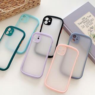 【新入荷】iPhone12/12pro Maxケース スマホケースクリアケース黒(iPhoneケース)