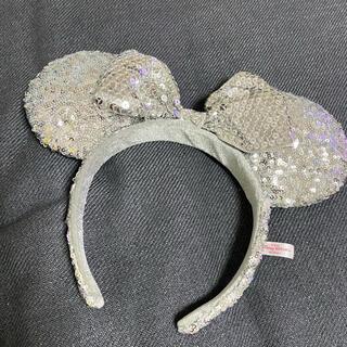 ディズニー(Disney)のミニーちゃん スパンコール カチューシャ 短時間使用(カチューシャ)