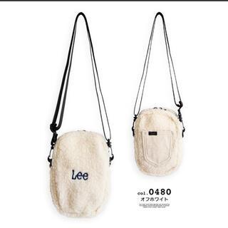 Lee - 新品未使用 Lee ボアフリースミニショルダーポーチ バッグ