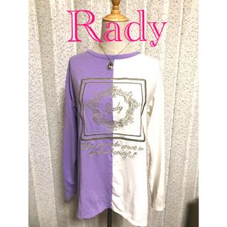 Rady - Rady♡バイカラートップス