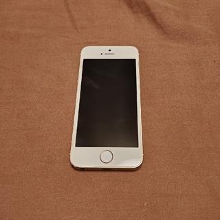 アップル(Apple)のiPhone 5s Gold ネットワーク利用制限 ドコモ○(スマートフォン本体)