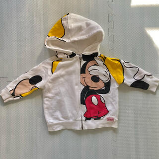 Disney - Zara baby ミッキー ディズニー パーカー