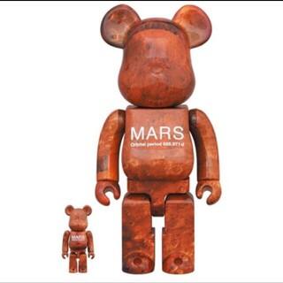 メディコムトイ(MEDICOM TOY)の新品未開封 MARS BE@RBRICK 100% & 400%(キャラクターグッズ)