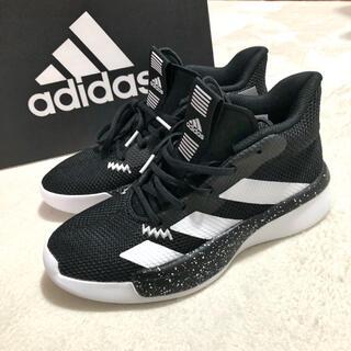 アディダス(adidas)の新品!【adidas】スニーカー ◾︎ 23.5cm アディダス 白黒(スニーカー)
