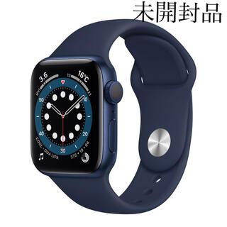 アップルウォッチ(Apple Watch)のアップル Apple Watch Series 6 40mm(腕時計(デジタル))