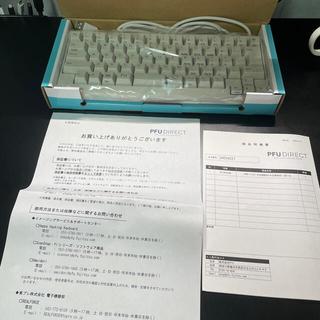フジツウ(富士通)のHappy Hacking Keyboard Lite 2 白 日本語配列(PC周辺機器)