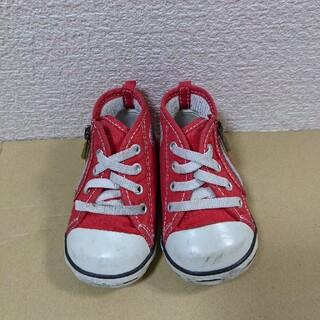 コンバース(CONVERSE)のコンバースオールスター 赤 12cm(スニーカー)