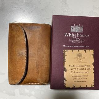 ホワイトハウスコックス(WHITEHOUSE COX)のホワイトハウスコックス Whitehouse Cox  ヴィンテージ UA(折り財布)