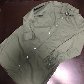 ユニクロ(UNIQLO)のユニクロ UNIQLO 140 シャツ シャツワンピース ロングシャツ(その他)