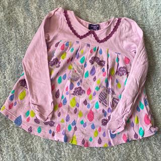 アナスイミニ(ANNA SUI mini)のアナスイミニ 長袖 トレーナー チュニック(Tシャツ/カットソー)