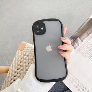 【新入荷】iPhone12 mini ケース スマホケースクリアケース黒(iPhoneケース)