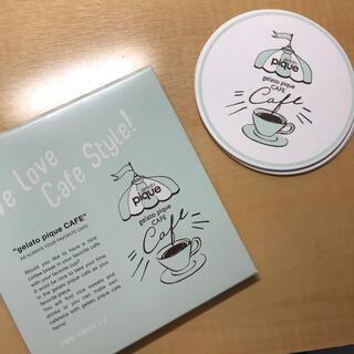 ジェラートピケ(gelato pique)のジェラピケ カフェ コースター(テーブル用品)