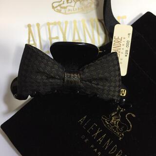 アレクサンドル ドゥ パリ クリップ タグ ショップ袋 巾着付き定価29000円