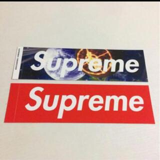 シュプリーム(Supreme)の新品レアsupreme コラボ undercoverボックスロゴステッカー 2枚(その他)