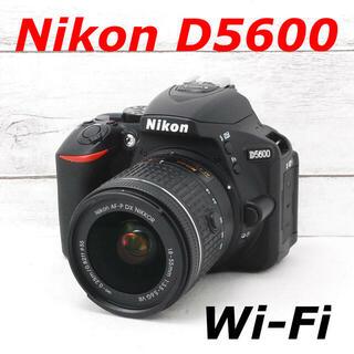 ニコン(Nikon)の❤️シャッター回数わずか1059枚❤️Wi-Fi搭載❤️Nikon D5600(デジタル一眼)