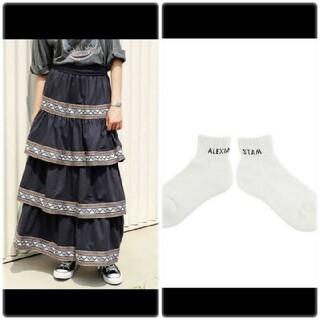 アリシアスタン(ALEXIA STAM)のalexiastam スカート(ロングスカート)