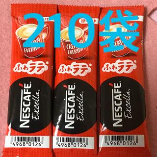 ネスレ(Nestle)の新品未開封♪ ネスカフェ ふわラテ 210袋(コーヒー)