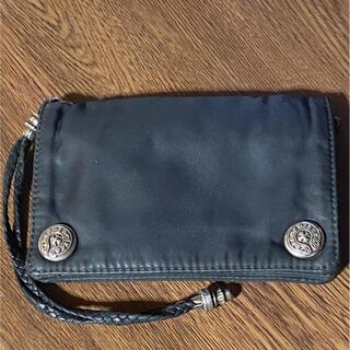 クロムハーツ(Chrome Hearts)のクロムハーツ  ナイロンウォレット2zip(折り財布)