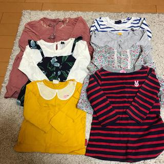 女の子まとめ売り 80.90 長袖セット(Tシャツ/カットソー)