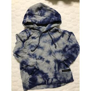 フタフタ(futafuta)のラグカウ lagkaw バースデイ 染めパーカー 綿100 90サイズ(Tシャツ/カットソー)