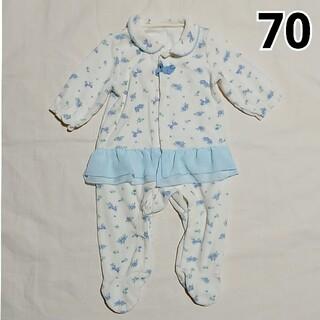 ニシキベビー(Nishiki Baby)の70 sweetgirl 足つきカバーオール ニシキ(カバーオール)