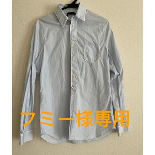 ヌメロヴェントゥーノ(N°21)のN21 ブルーシャツ 美品(シャツ)
