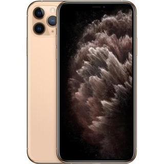 アイフォーン(iPhone)のiPhone11ProMaxゴールド512GB SIMフリーガラスコーディング済(スマートフォン本体)