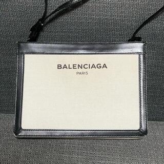 Balenciaga - 旧ロゴ バレンシアガ キャンバス ショルダーバッグ