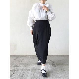 ムジルシリョウヒン(MUJI (無印良品))の美品/無印良品 /ロングスカート/バルーンスカート/コクーンスカート(ひざ丈スカート)