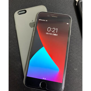 アイフォーン(iPhone)のジャンク Apple iPhone 6S 64GB SIMフリー+シリコンケース(スマートフォン本体)