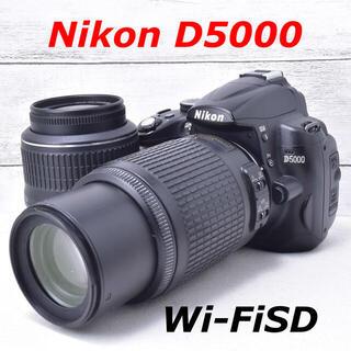 ニコン(Nikon)の❤️嬉しいダブルレンズ❤️スマホ転送❤️Nikon D5000(デジタル一眼)