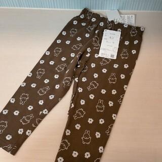 サイズ90 ミッフィー 総柄レギンス ベビー スパッツ ズボン パンツ ボトム(パンツ/スパッツ)