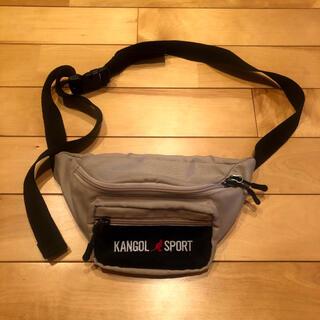 カンゴール(KANGOL)の90sファッション KANGOL カンゴール ウエストバッグ(ウエストポーチ)