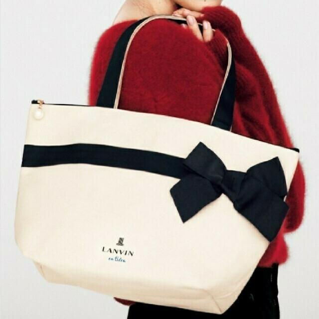 LANVIN en Bleu(ランバンオンブルー)のLANVINトートバッグ レディースのバッグ(トートバッグ)の商品写真