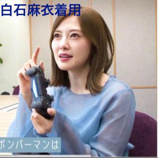 snidel - 19日まで限定価格!【新品未使用】乃木坂46 白石麻衣 着用 水色ブラウス