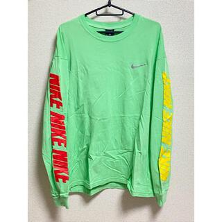 ナイキ(NIKE)のNIKE ナイキ ロンT 長袖Tシャツ ミントグリーン M(Tシャツ/カットソー(七分/長袖))