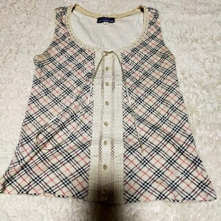 BURBERRY BLUE LABEL - 【USED品】BURBERRY BLUE Labelカットソー38