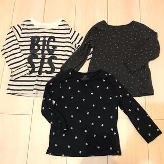 エイチアンドエム(H&M)のこどもふく size 90 3点セット H&M(Tシャツ/カットソー)