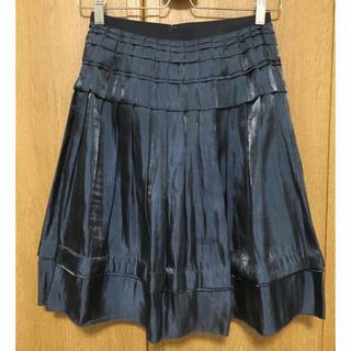 ダブルスタンダードクロージング(DOUBLE STANDARD CLOTHING)のsov. サテンスカート(ひざ丈スカート)
