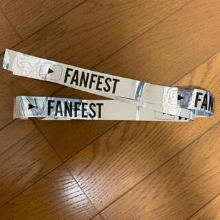 YouTube FUNFEST 銀テープ(男性タレント)