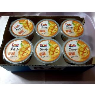 Dole マンゴーカップin100% 6個カップ まとめ売り(菓子/デザート)
