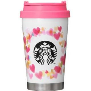 スターバックスコーヒー(Starbucks Coffee)のスターバックス♢バレンタイン ステンレスToGoロゴタンブラー♢355ml(タンブラー)