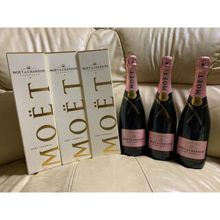 モエエシャンドン(MOËT & CHANDON)のモ・エ・シャンモエドン(Moët & Chandon) 白×3本・ロゼ×3本 (シャンパン/スパークリングワイン)