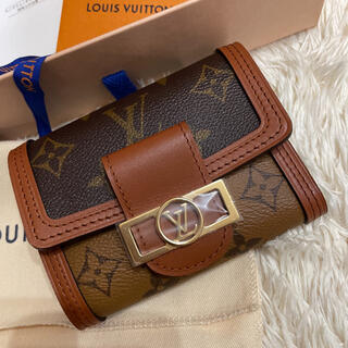 LOUIS VUITTON - ルイヴィトン ポルトフォイユ・ドーフィーヌ コンパクト 正規品