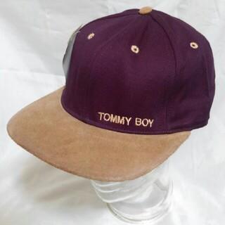 TOMMY BOY キャップ デッドストック 90s Hip Hop レア