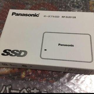パナソニック(Panasonic)の新品*PanasonicポータブルSSD RP-SUD128(PC周辺機器)
