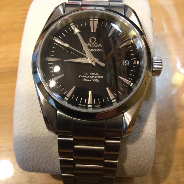 OMEGA(オメガ)の最終 オメガ シーマスター アクアテラ コーアクシャル メンズの時計(腕時計(アナログ))の商品写真