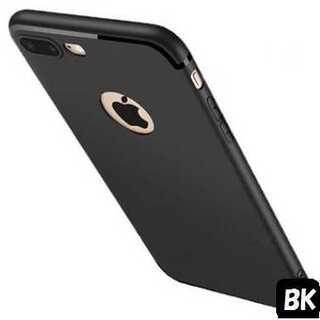【処分価格】 iphone7用  薄さ2mm! シンプルライン(ブラック)(iPhoneケース)