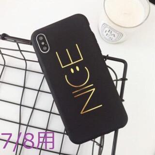 【iPhone7/8用:NIC:Eスマイリー】スマホカバー TPU(iPhoneケース)