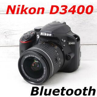 ニコン(Nikon)の❤️シャッター回数わずか1879枚❤️スマホ転送❤️Nikon D3400(デジタル一眼)
